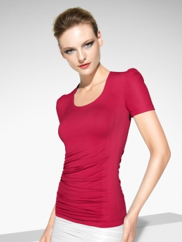 Curve Shirt - china red